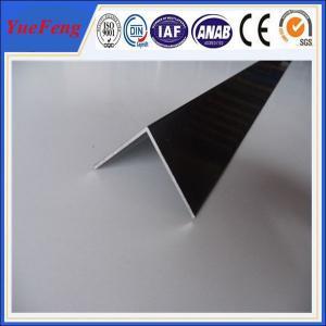 Buy cheap 6063 T5 aluminum angle profile / OEM aluminum angles / per ton of aluminum manufacturer product