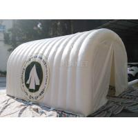 Buy cheap White Advertising Inflatable Tent , UV Resistant Inflatable Shelter Tent product