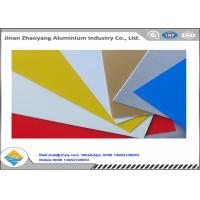 Buy cheap Oxidation Resistant Color Coated Aluminum Coil / Sheet Width 500 - 1500mm product