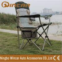 Buy cheap Portable Folding Outdoor Camping Chairs With Cup Holder for family product