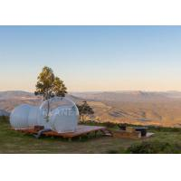 Buy cheap Luxury Big Transparent Camping Inflatable Bubble Tent 0.65 Mm PVC Tarpaulin product