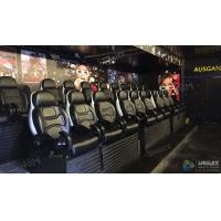 Buy cheap Motion Control System Durable 5D Movie Theater Amusement With Playground Equipment product