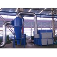 Buy cheap Metal Frame Dust Collector Separator , Carbon Steel Cyclone Dust Separator product
