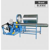 Buy cheap Spiral flexible aluminum duct making manufacture machine product