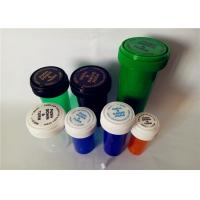 Buy cheap Smooth Child Resistant Reversible Cap Vials , Odorless Medicine Pill Bottles product