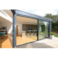 Buy cheap RAL Color Aluminium Sliding Glass Doors With Fly Screen PVDF Surface Finishing product