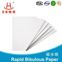 Buy cheap 100% Natural Plant Fiber Moisture Absorbent Paper For Food Oil / Water product