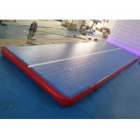 Buy cheap Durable Inflatable Gymnastics Air Floor Cheerleading Inflatable Mat For Training product