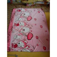 Buy cheap Pink Car Soft Polyester Baby Blanket Superfine Fiber For Home / Picnic product