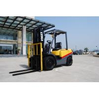 Buy cheap Full Free Mast Hydraulic Diesel Forklift Truck 3 Ton For Freight Yard product