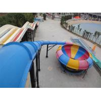 Buy cheap Water Play Amusement Super Space Bowl Slide For Aqua Park 1 Year Warranty product