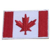 China Flag Embroidery Patch with Iron on Back on sale