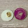 Buy cheap Butterfly clasp emblem lapel pin, metal enamel lapel pins, product