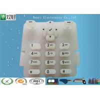 Buy cheap 2 Color Silk Screen Print Carbon Pill Contact Silicone Rubber Keypad product