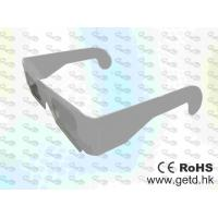 Buy cheap Paper framed plastic Linear polarized 3D glasses  product