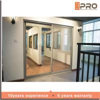 Buy cheap Multi Color Aluminium Sliding Glass Doors For Living Room With Security product