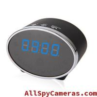 Buy cheap 1080P 5MP Pixels 140 Degree Wifi Spy Alarm Clock Camera Motion Detection For Android and IOS product