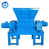 Buy cheap 2-3 ton/h dual shaft shredder for copper wire product