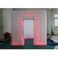 Buy cheap Outdoor Inflatable Photo Booth Double Triple Stitches Customized Color product