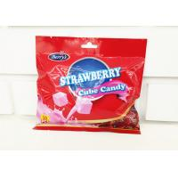 Buy cheap 2.75g Cube Shape Strawberry Flavor Milk Candy In Bag Healthy And Yummy product