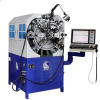 Buy cheap Wire Size Range 0.3 - 2.5mm High Efficient Cam-less CNC Spring Forming Machine from wholesalers