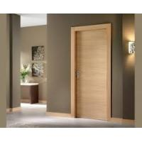 Buy cheap Simple Plywood Flush Panel Wooden MDF Interior Doors For Hotel Break Resistance product