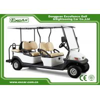 Buy cheap White Hotel Elegant 6 Person Used Golf Cart  With ADC Separately Motor from wholesalers
