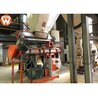 Buy cheap Forage Animal Feed Production Line , Electronic Control System Animal Feed Equipment product
