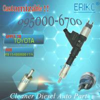 Buy cheap Hot sale original fuel injector 095000-6701 TOYOTA original injector 095000 6701 HOWO high performance 0950006701 product