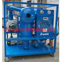 Buy cheap High Vacuum Transformer Oil Filter Machine Price for Sale Made In China product