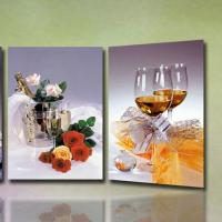 Buy cheap high quality 3D Wedding Photo with frame lenticular printing photo-lady portrait painting 3d moving portrait photo product