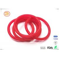 Buy cheap Red Acid Resistance Ageing Resistance EPDM Customized O Ring Shape For Chemical product