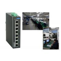 Quality High reliablity VLAN division RJ45 8 port poe switch , 1.6Gbps industrial unmanaged ethernet switch for sale
