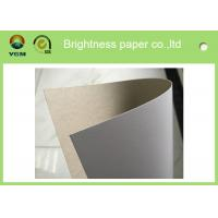 Buy cheap Offset Printable white carton board with grey back Sheets , Full Gsm Gift Boxes Cardboard product