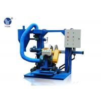Blue Tire Buffing Machine , Auto Buffing Machine For Buffing Tread Rubber