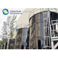 Buy cheap NSF 61 Glass Lined Steel Water Storage Tanks For Liquid Dry Bulk Storage product
