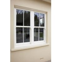 Quality Single Hung Aluminum Single Glazing box sash windows Horizontal Opening Pattern for sale