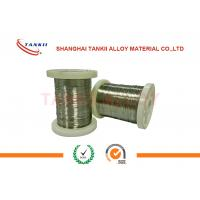 Buy cheap Type K Ribbon 0.5mm*10mm Bare Wire Thermocouple , 50mm Chromel Alumel Strip product