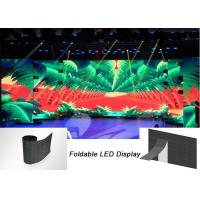 Buy cheap P6 Foldable Flexible LED Display Lightweight Easy Transportation Front Service from wholesalers