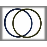 Buy cheap Odourless Silicone Rubber Rings , Multi Color Silicone O Ring Molded Gasket product