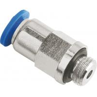 Buy cheap Inline Check Valve Pneumatic Push To Connect Fittings NPT Male Thread To Tube product