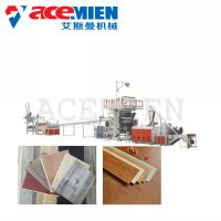 Buy cheap Click Vinyl SPC Flooring Machine 30X4X4M Power 150-250 KW Easy Operation from wholesalers
