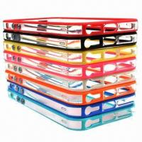 Buy cheap Fashionable and Novelty PC, TPU Promotional Case for iPhone 5, Various Colors are Available product