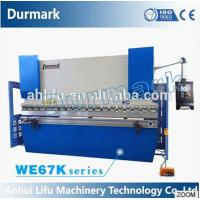 Buy cheap China export CE high efficiency full CNC synchronized 3+1 axis press brake product