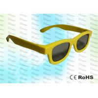 Buy cheap Master Image and Adult RealD, ABS Plastic framed Circular polarized 3D glasses product