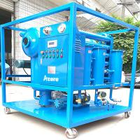 Weather-Proof 10000L/H Vacuum Transformer Oil Treatment Machine