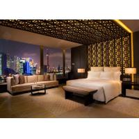 Buy cheap Luxury Apartment Furniture Sets / Wooden Hotel Style Bedroom Furniture product