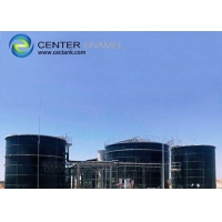Buy cheap Bolted Steel Continuous Stirred Tank Reactors (CSTRs) For Industrial Biogas Plants And Waste Water Treatment Plant WWTP product