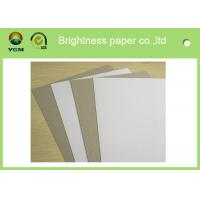 Buy cheap Grade AA Recycled Grey Back Duplex Board For Packaging Commodity product
