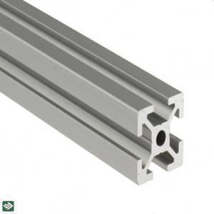 Buy cheap Machining Extruded Custom Aluminum Alloy Profile T3-T8 Temper 5-6M product